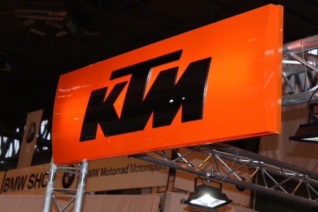KTM at Motorcycle Live