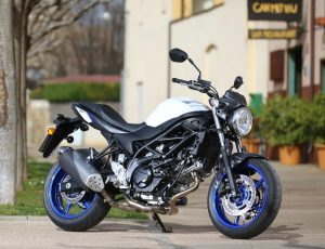 Win an Sv650 With Suzuki and Motorcycle Live