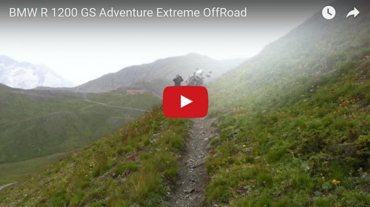 Extreme Off Road Riding On A BMW R1200 GS Adventure