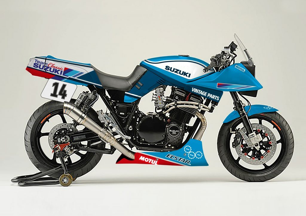 Suzuki to Build Katana Endurance Racer at Motorcycle Live