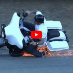 Harley Davidson Rider Lands Like a BOSS After a Crash!!!