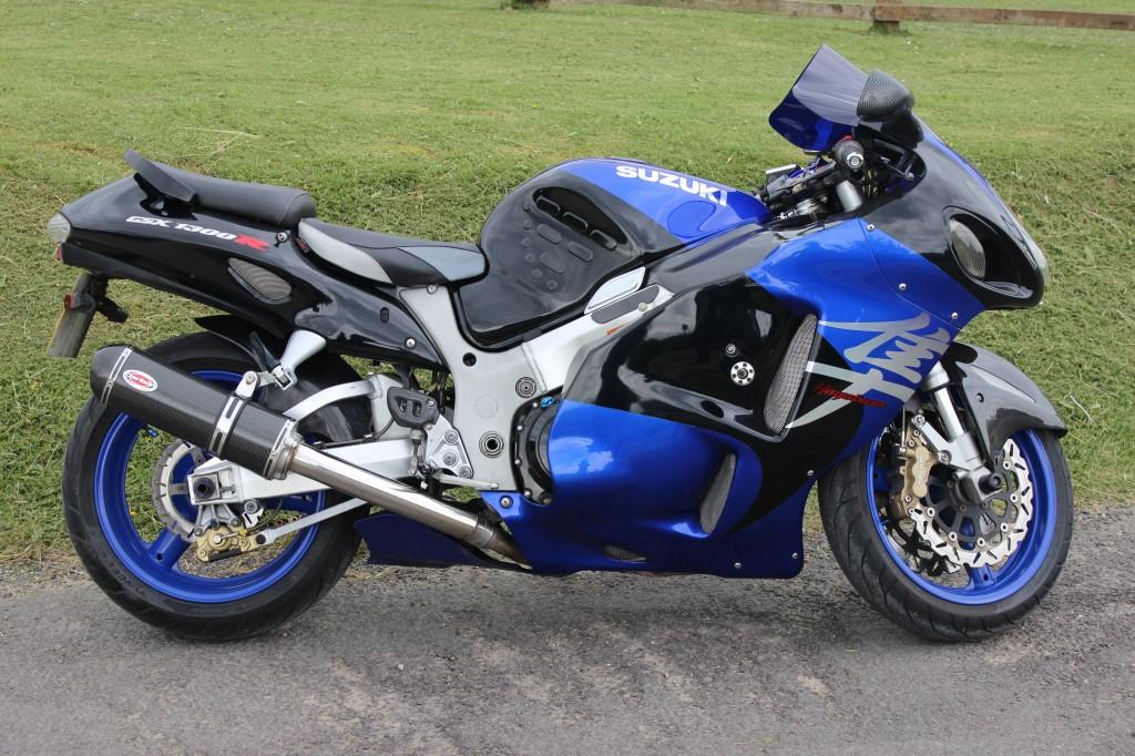 2002 Suzuki Hayabusa used Review
