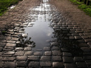 Change In Road Surfaces
