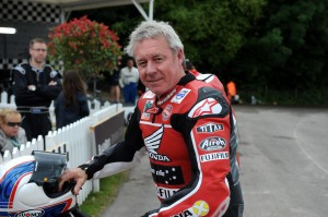 Wayne Gardner (above) will be one of three former two-wheel World Champions at the Regent Street Motor Show