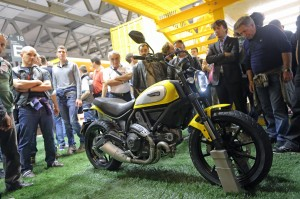 "Eicma 2014 Visitors Award The Ducati Scrambler ""most Beautiful Bike Of Show"""