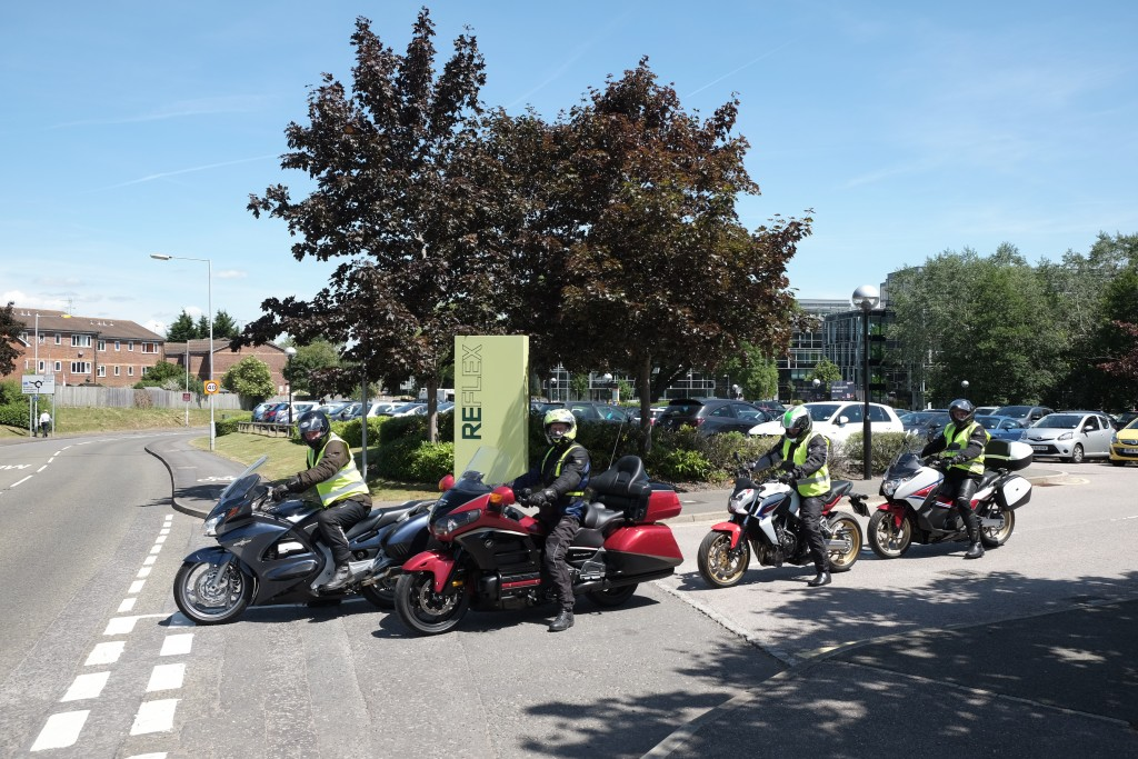 Honda staff ride at work during Ride to work Week-21225