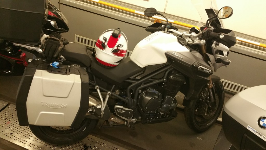 Trip To Monaco Triumph Tiger Explorer