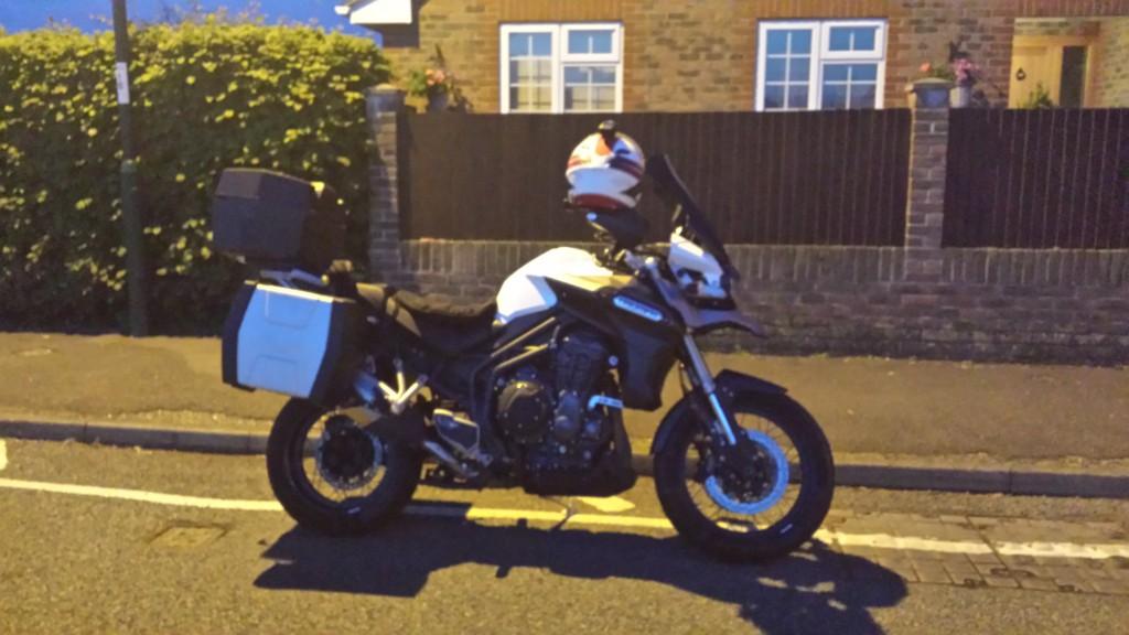 Danny's Triumph Tiger Explorer