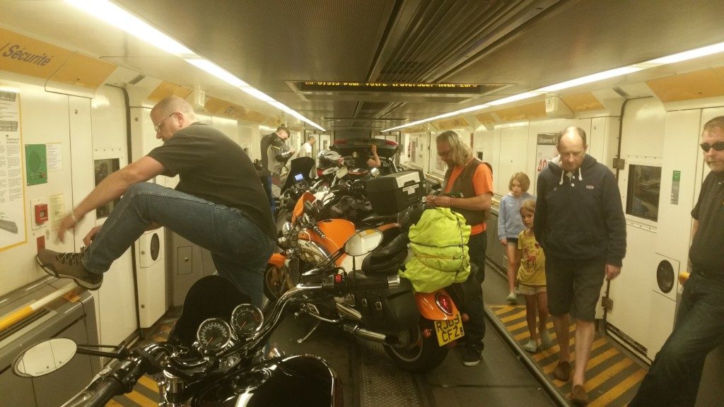 On The Euro Tunnel