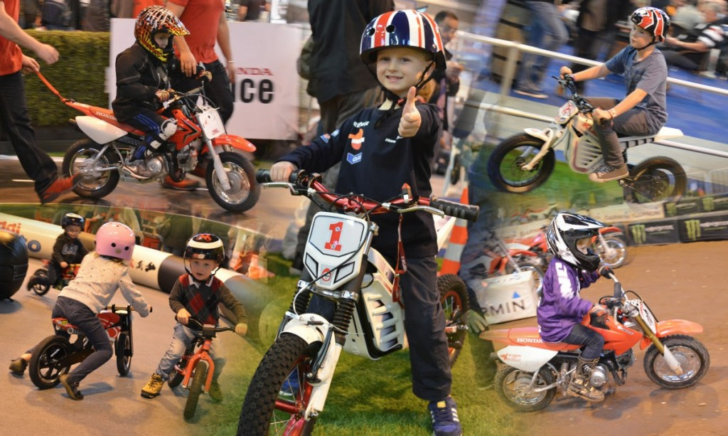 Fun For The Kids At Motorcycle Live