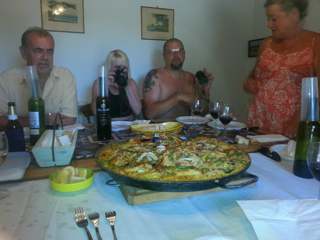 Partying In Spain