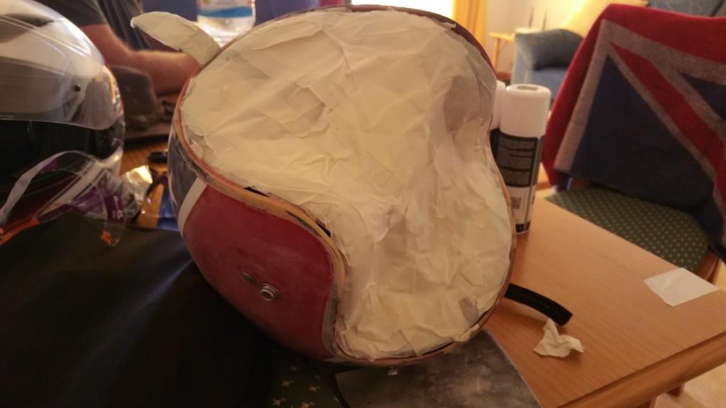 Petes Helmet Prep