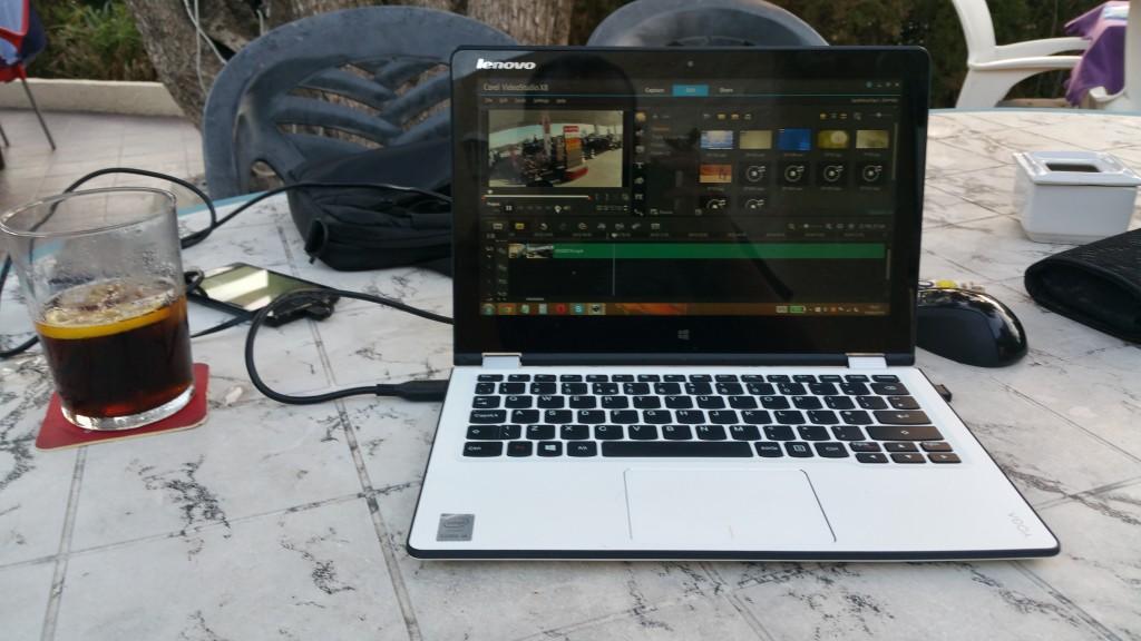 Blogging In The Sun Shine