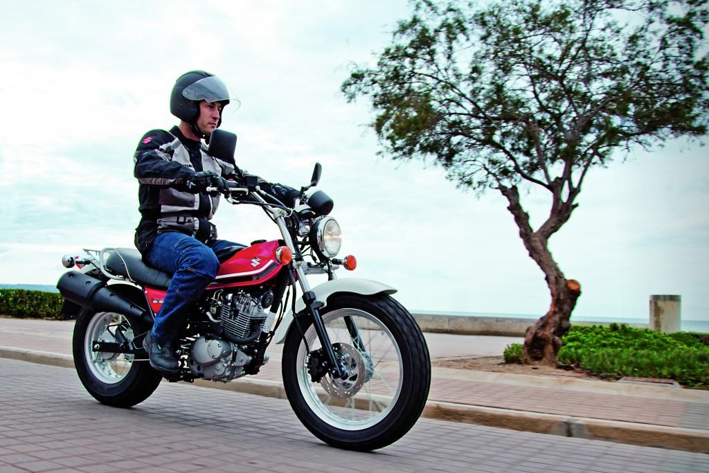 Small Bikes, Smaller Deposit And 0% Finance From Suzuki