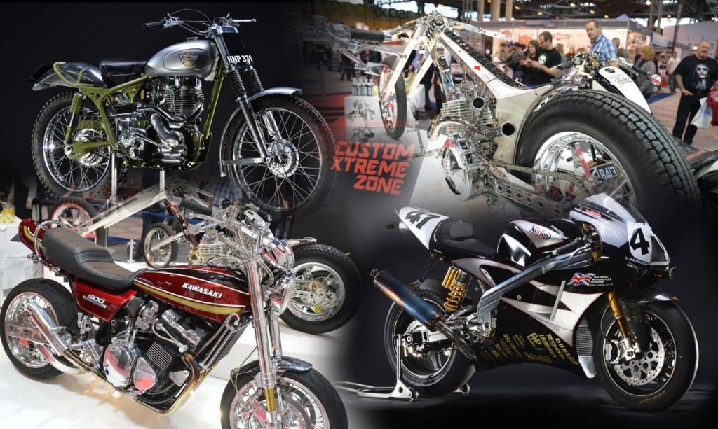 CLASSIC AND CUSTOM MACHINES TO IMPRESS THE CROWDS AT MOTORCYCLE LIVE