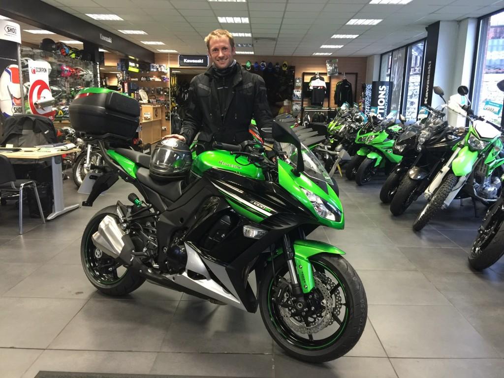 Jason Kenny OBE, Swaps Pedal Power For Horsepower With Kawasaki Z1000sx