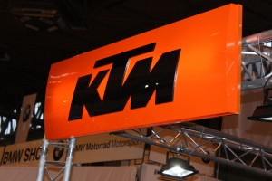KTM at Motorcycle Live