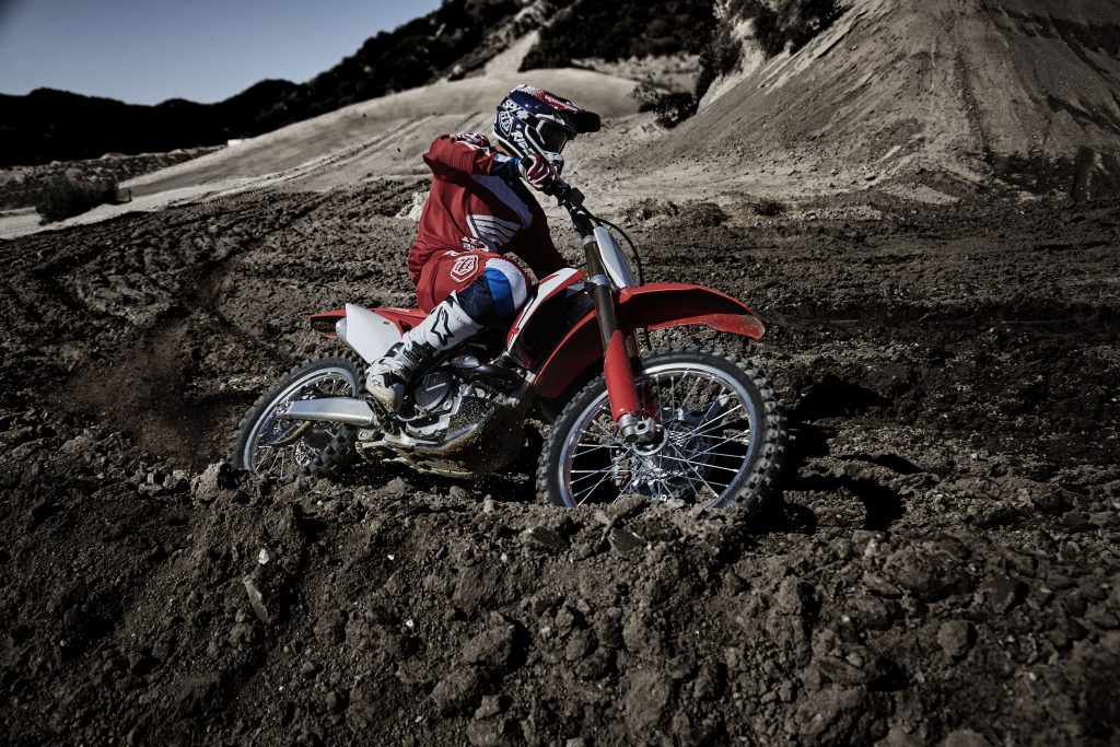 CRF450R Action 2