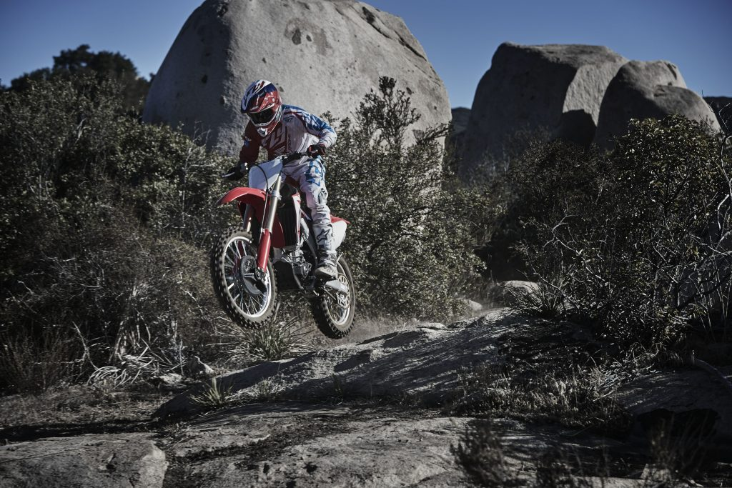 CRF450RX Action 2